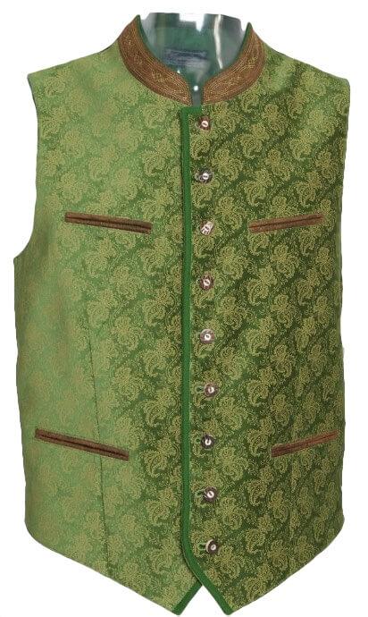 Trachtenweste grün