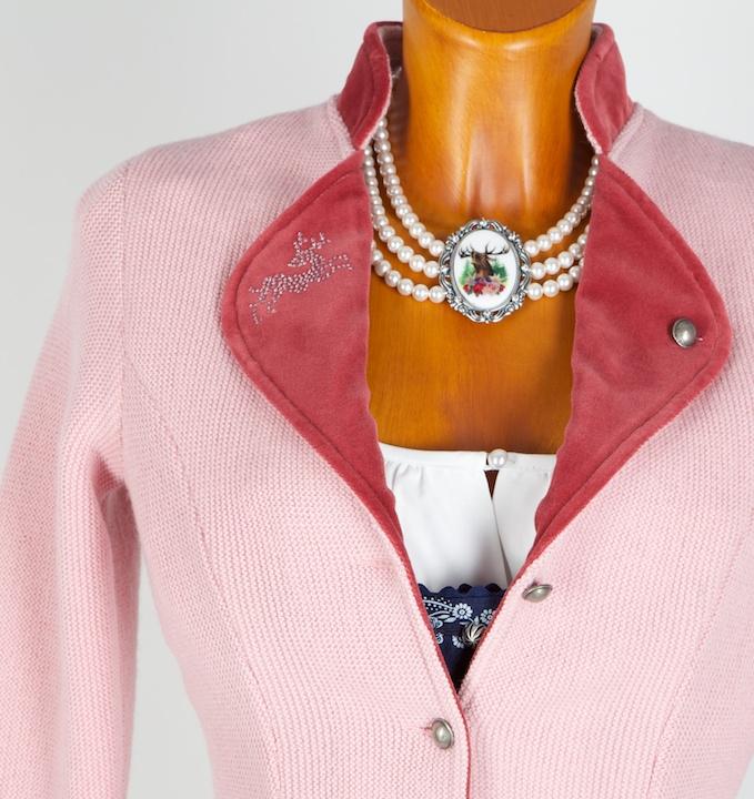 1486 litzlfelder strickjacke rosa pink gr 40 trachtenhimmel. Black Bedroom Furniture Sets. Home Design Ideas
